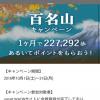 【smart WAON】百名山キャンペーンにエントリーしてみた!