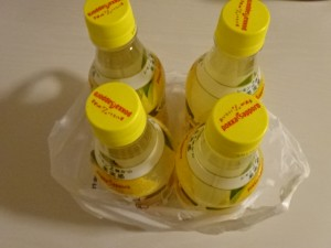 キレートレモン スパークリング 450ml 4本