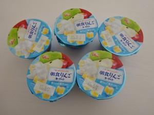 朝食りんごヨーグルト第3弾