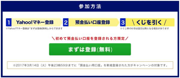 Yahoo!マネー キャンペーン2