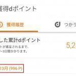【歩いておトク】3月の結果!毎日2万歩も1000ポイント達成ならず!