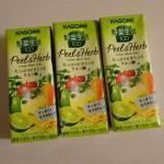 【レシポ!】実質30円でカゴメ野菜生活 100 Peel&Herb ライム・ミントミックスを3個買ってみた!