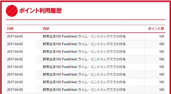 野菜生活100第3弾