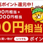 【過去最高ポイント!?】楽天カードのカード発行で23,000円相当のポイントGET!!