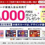 【楽天カード】1番還元額が高いポイントサイトを調査してみた!