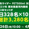 【総計3,280名に当たる!!】三ツ矢サイダー2本セットが毎日328名に当たる!Twitterキャンペーン