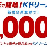 【Kドリームス】ポイントサイト経由の新規会員登録でポイント2重取りに成功!