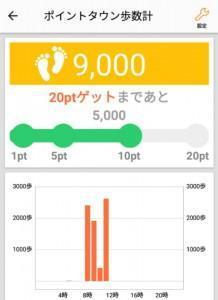 ポイントタウンアプリ歩数計 (4)