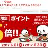 【6月1日~】全国のマクドナルドで楽天ポイントが使える!貯まる!