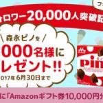 【1,000名に当たる!!】プチギフト セブイーイレブンのピノが当たるキャンペーン