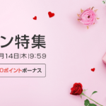 【楽天Rebates】バレンタイン特集!楽天スーパーポイントが貯まる!