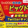 【1,000名に当たる!!】ミニストップ ビッグドッグ無料クーポンが当たる!キャンペーン