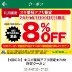 【節約!!】スギ薬局8%OFFクーポン+d払いでお得に購入してみた!