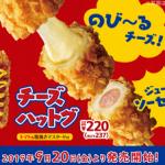 【全プレ?】ミニストップ チーズハットグ無料クーポンGET!