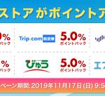 【1日限定!!】旅行ストアがポイントアップ!楽天Rebates キャンペーン