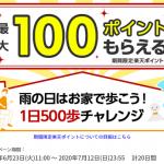 【最大100ポイントもらえる!!】歩くだけで楽天ポイントがもらえる!キャンペーン