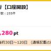 【超お得!!】ジャパンネット銀行の口座開設で6280円相当ポイントGET!