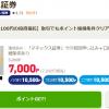 【今がチャンス!!】マネックス証券の新規口座開設で最大9500円相当ポイントもらえる!
