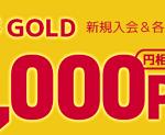 【1日限定!!】dカード GOLD 新規発行で最大41,000円相当ポイントもらえる!キャンペーン