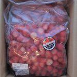 【ふるさと納税】鹿児島県日置市 冷凍いちご小粒ころころサイズ2.5kg超 届いた!