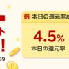 【最大20%還元!!】62時間限定 楽天Rebates ダブルポイントバックキャンペーン